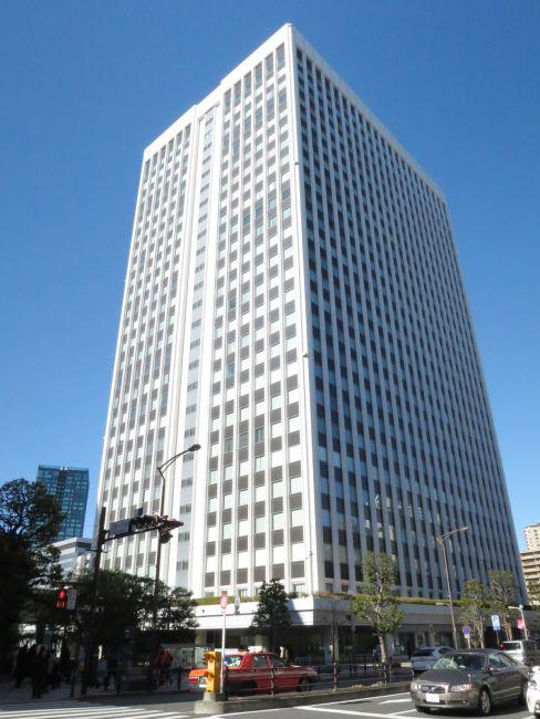 三田国際ビル 15階 96.95坪(赤羽橋、芝公園)     港区三田1-4-28