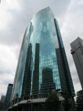 Shiodome City Center Exterior
