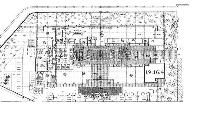 KDX豊洲グランスクエア 1階 96.15坪(豊洲、東雲)     江東区東雲1-7-12