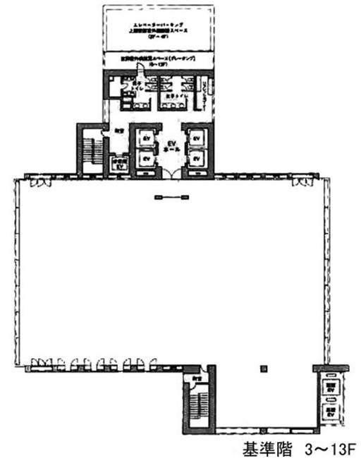 E・スペースタワーの図面