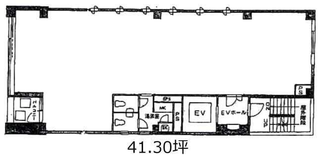 蓮華堂ビル 5階/41.3坪。officee