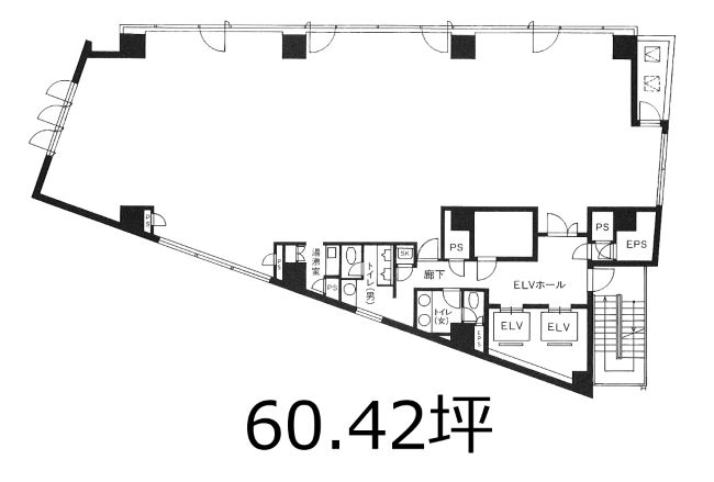Kintetsu Kasumigaseki Building Floorplan