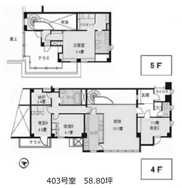 Alphabet Seven Floorplan
