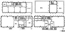 一括貸事務所ビルの図面