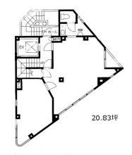 Fujimidai Building Floorplan