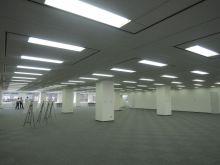 天井高2650mmの広々としたオフィス空間