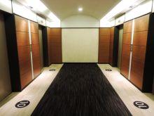 フロア階のエレベーターホール