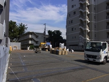 高田馬場アクセスビル隣の駐車場